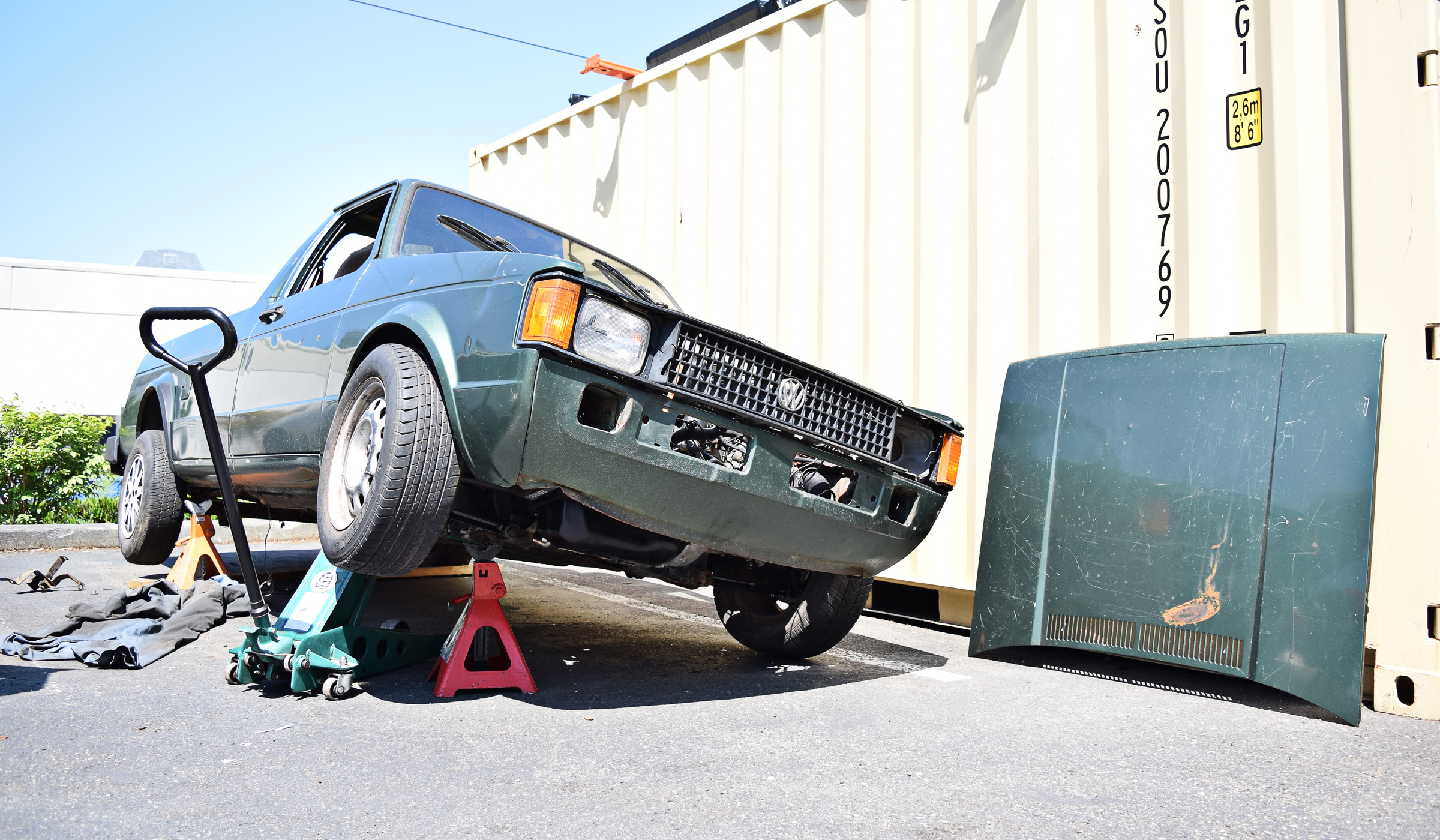 VW Caddy Project Pt.4